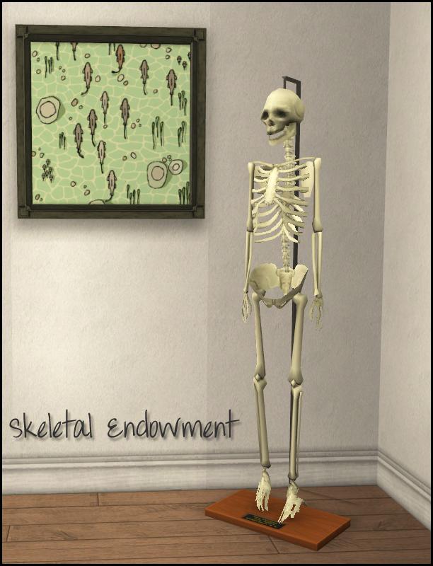 Mod The Sims Skeletal Endowment