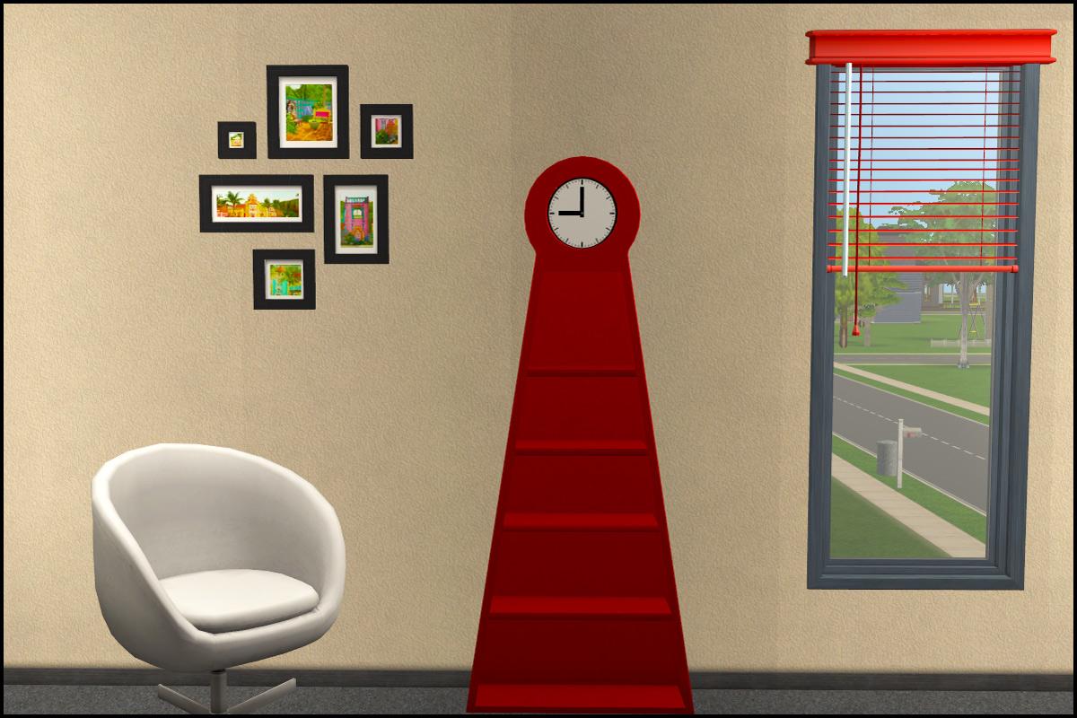 Mod The Sims Ikea Ps Pendel Floor Clock