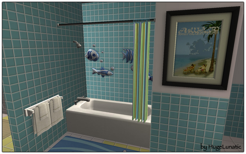 NOTE These Are A Slave Object To The Original Maxis Objects All Recolors Of Showers Will Apply This