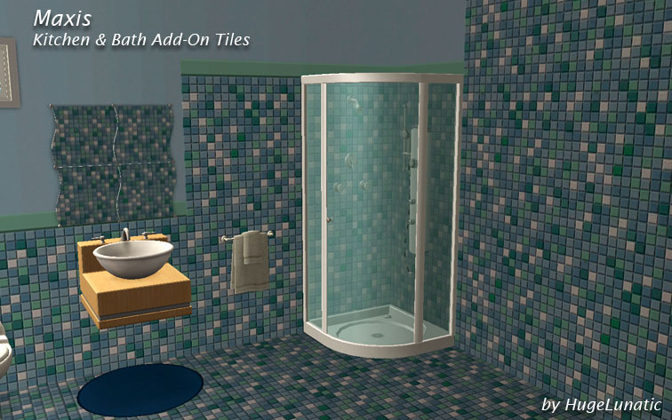 Mod The Sims - Kitchen & Bath Add On Tiles