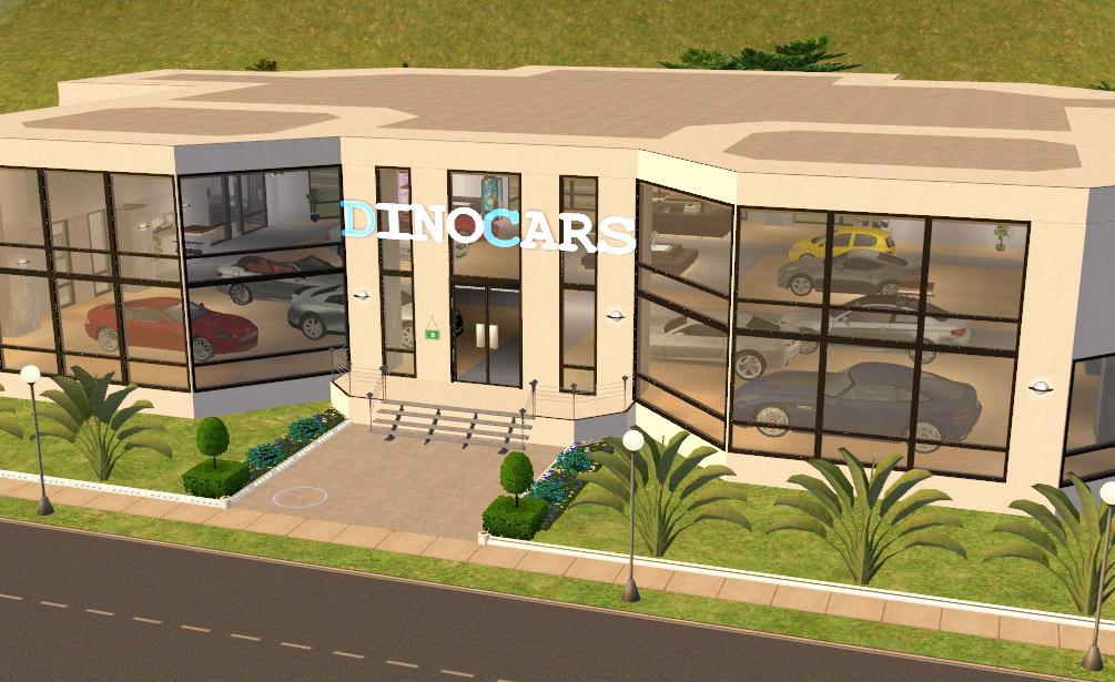 Mod The Sims Dino Cars Car Dealership Ofb