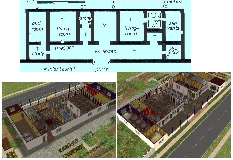Mod The Sims Simple Roman Villa Roman Deco