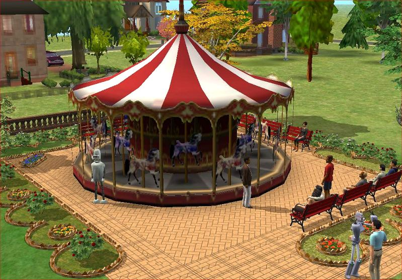 Mod The Sims Modular Round Flowerbeds