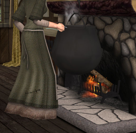 Mod The Sims Rustic Gormet Maylin S Antique Cooking