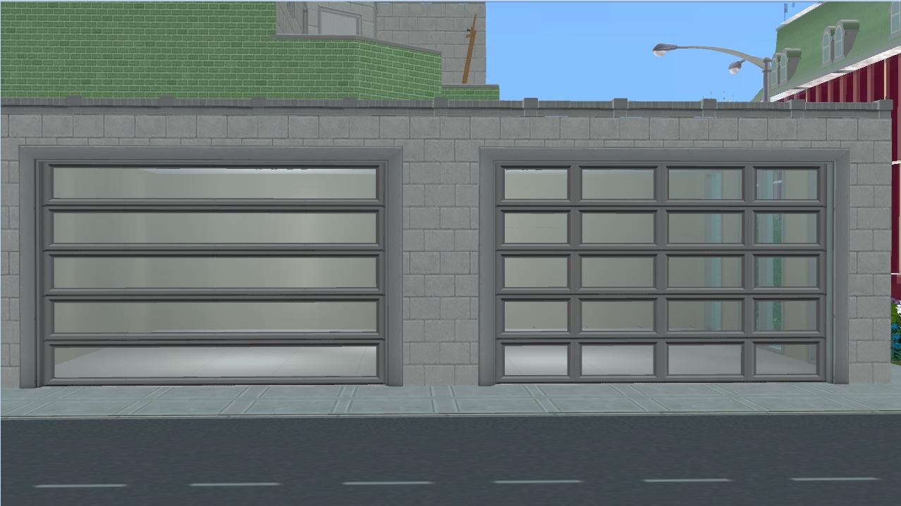 mod the sims ap patio garage door modern