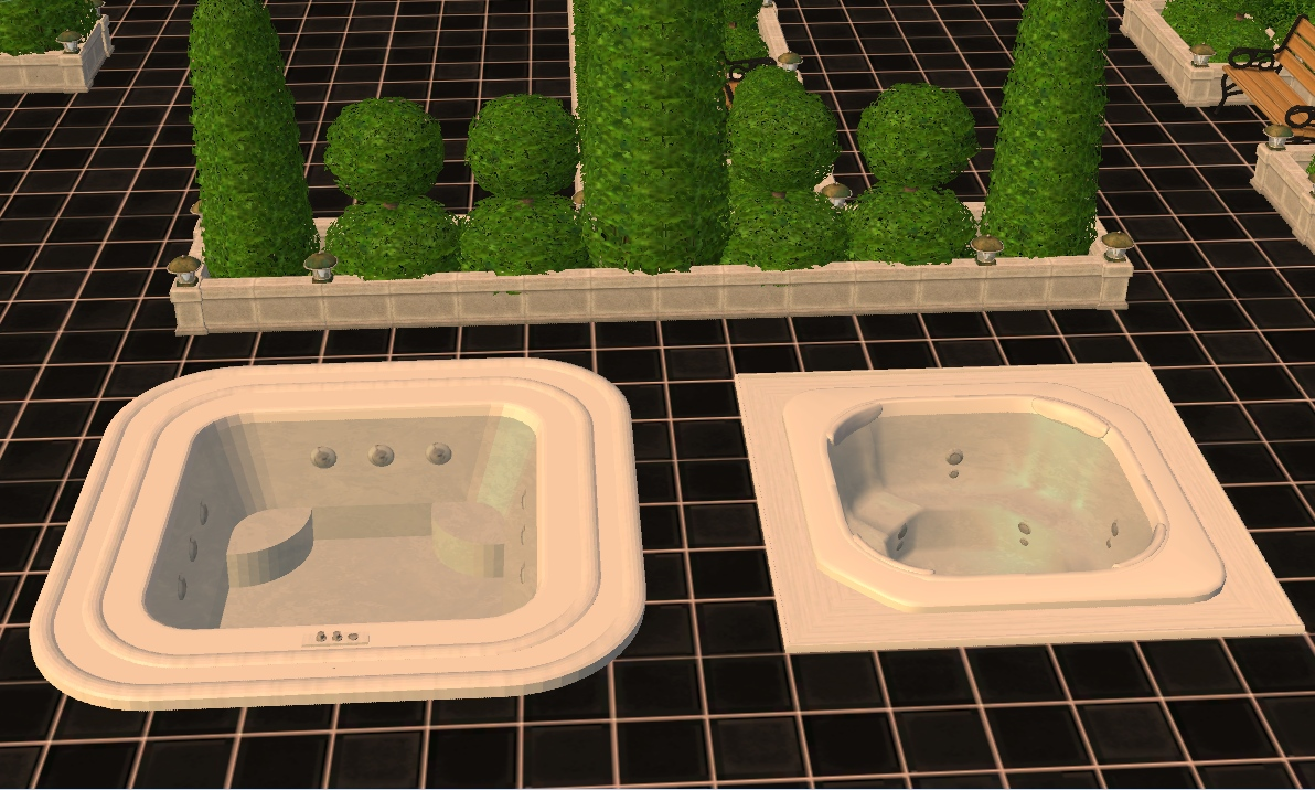 Mod The Sims Patio Jacuzzi Hot Tub