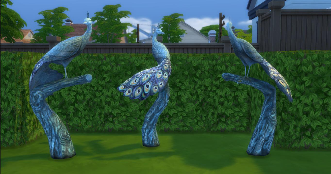 Mod The Sims - The Sims 2 Sculptures set