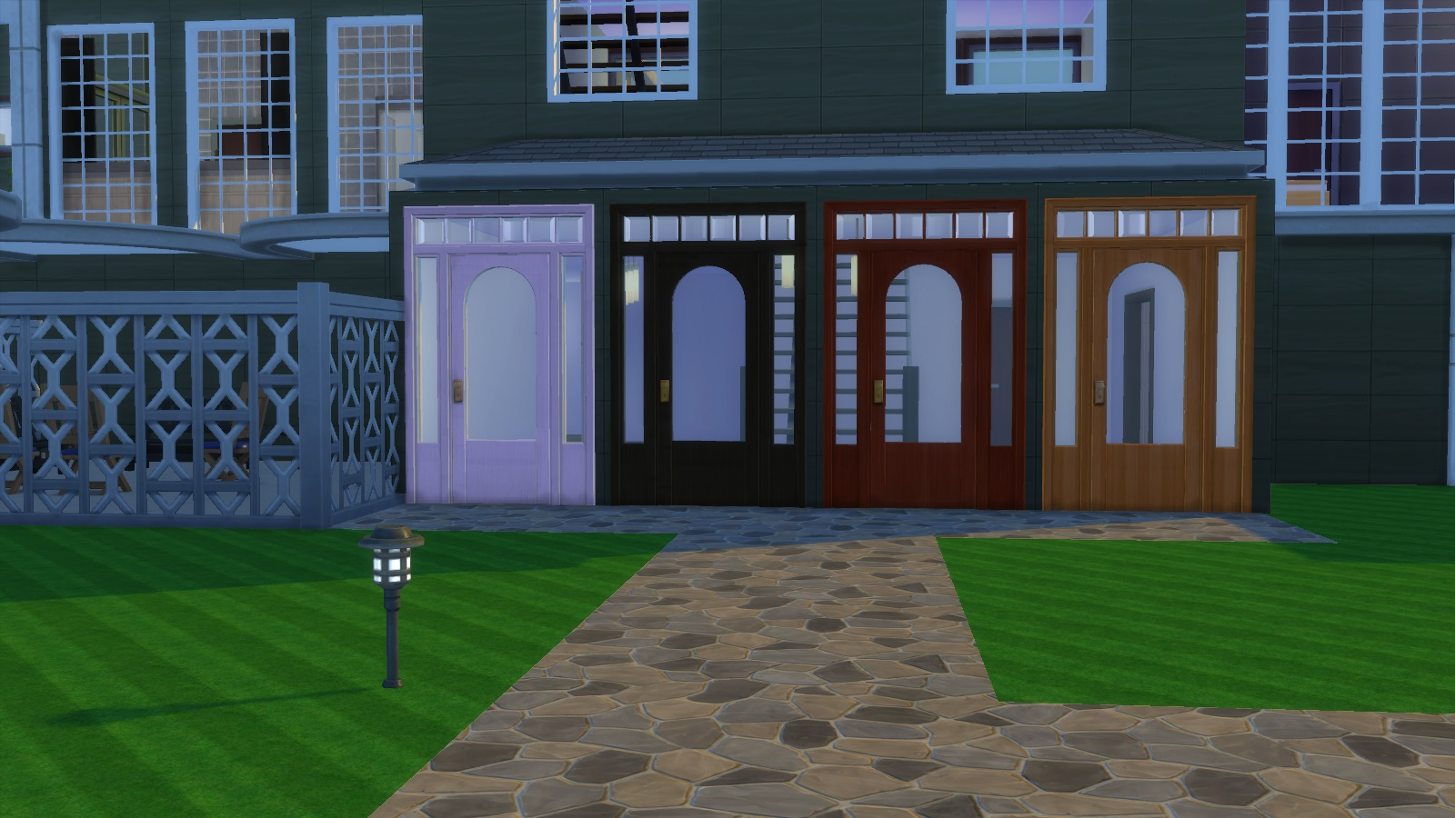 Advertisement: & Mod The Sims - Colonial Door Pezcame.Com