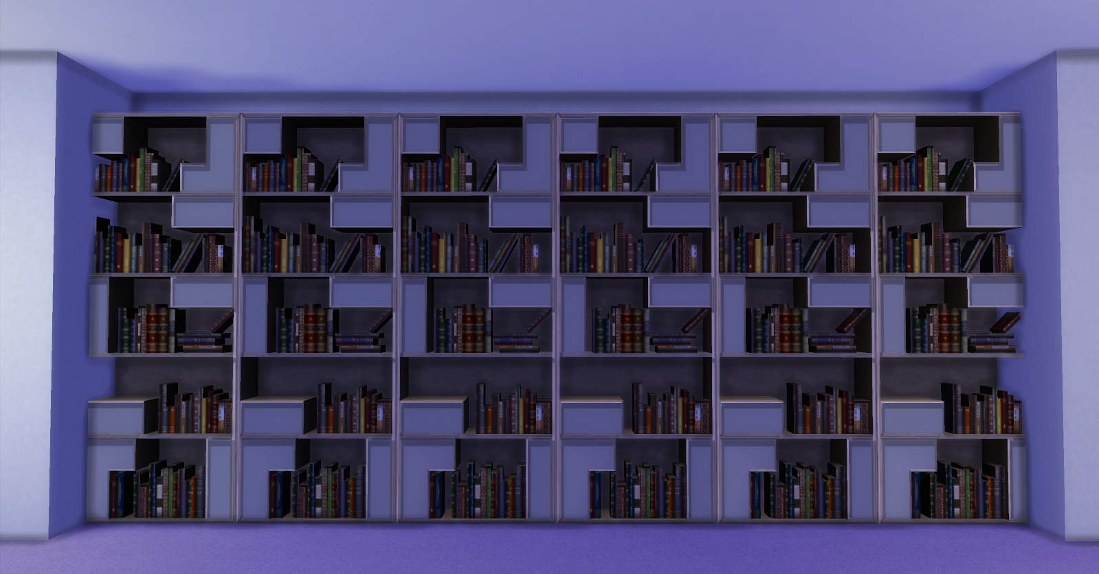 Wonderful image of Mod The Sims Poetic Bookshelf with #715F38 color and 1599x836 pixels