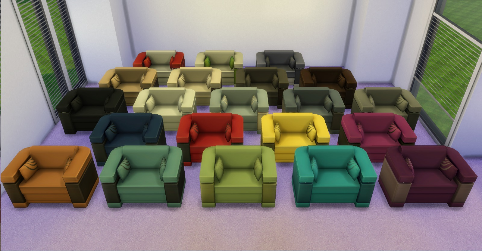 Mod the sims solidarity living chair for 3 star living room chair sims