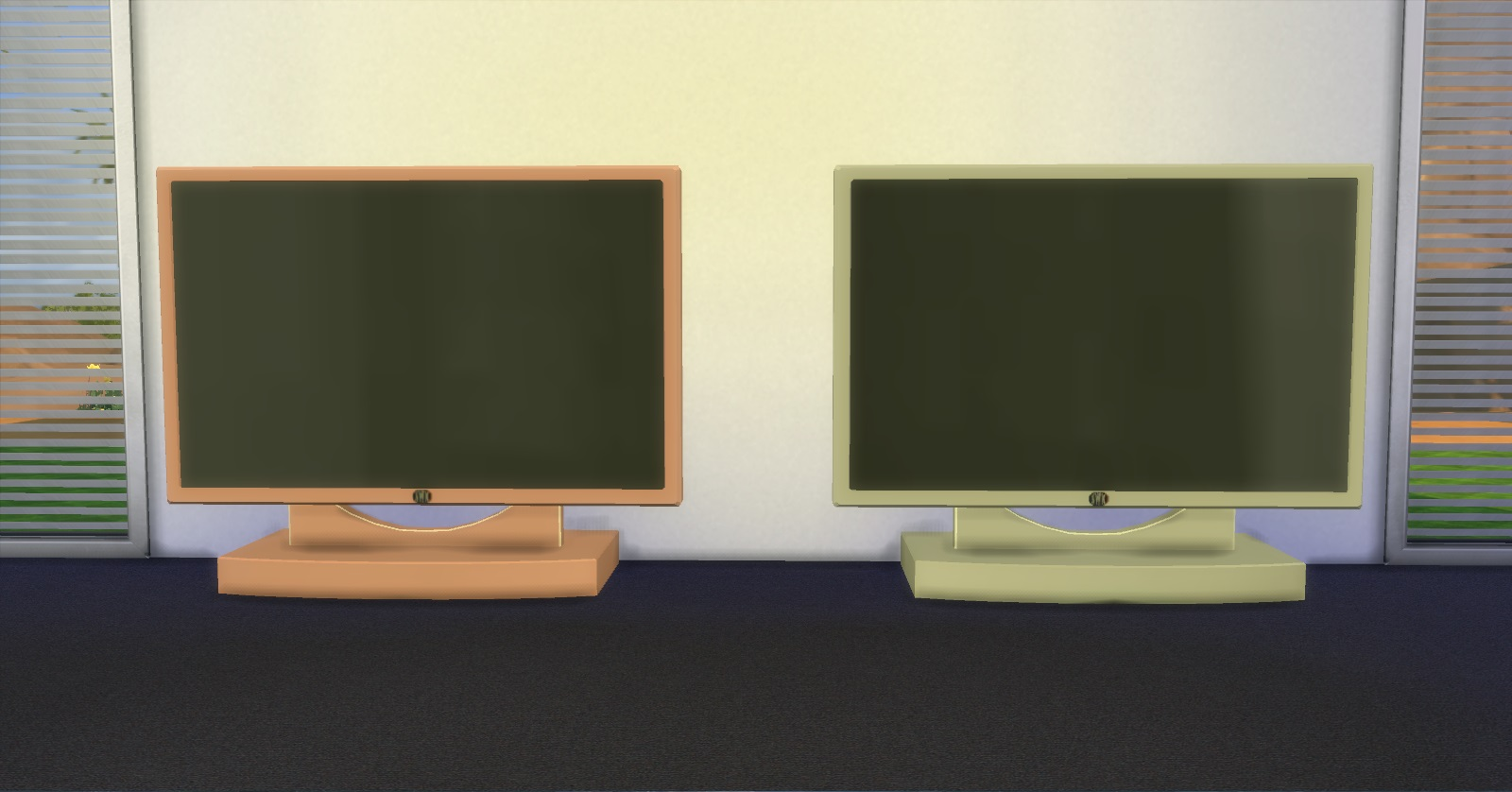 Mod The Sims Tv Galore 2 # Table De Television Moderne