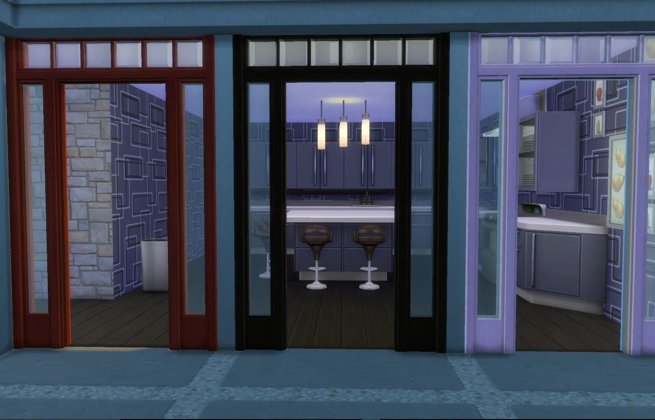 It comes in four colours and matches the Colonial Doors that I earlier converted. & Mod The Sims - Colonial Door Arch Pezcame.Com