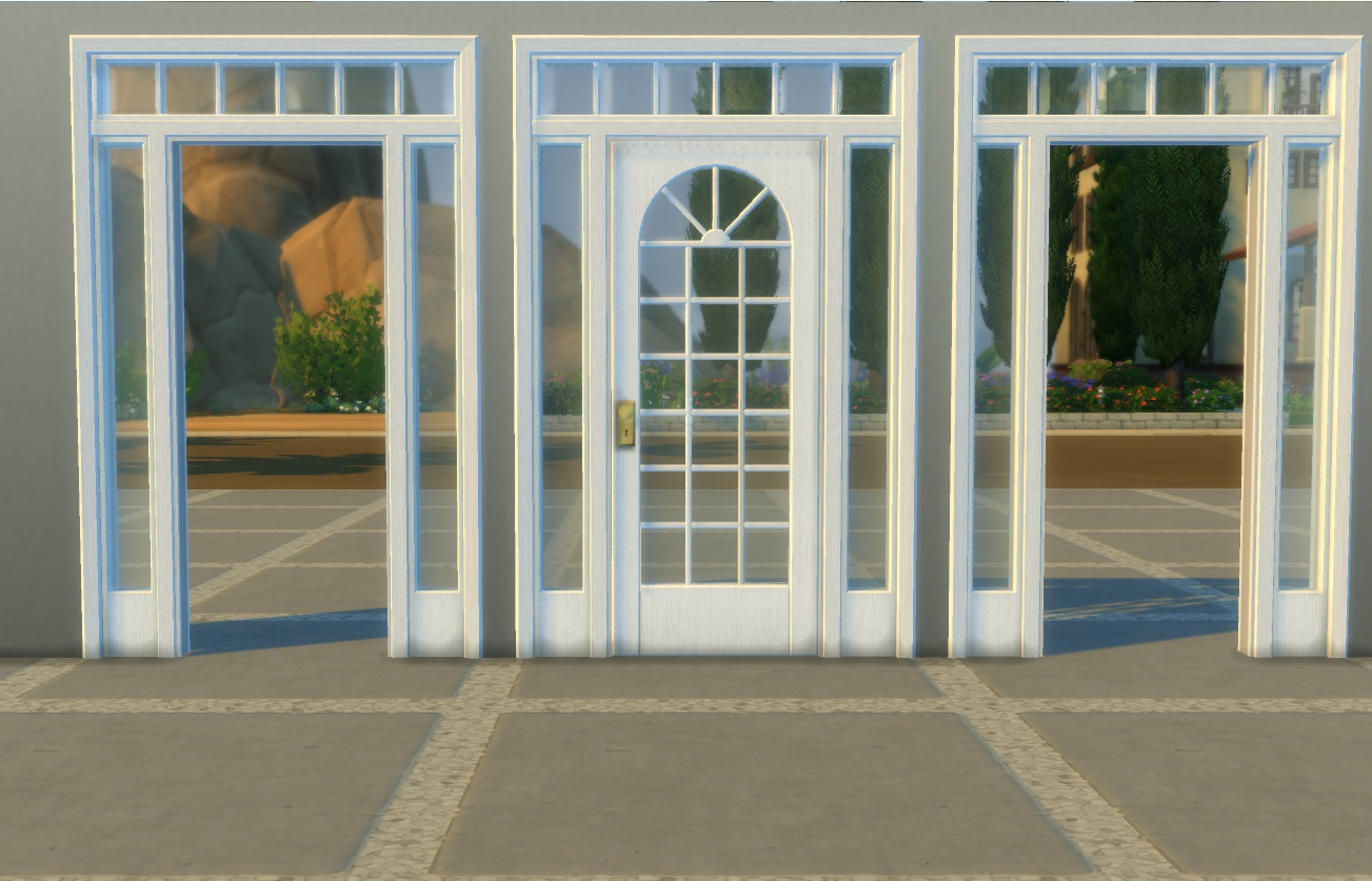 Mod The Sims Colonial Door Arch