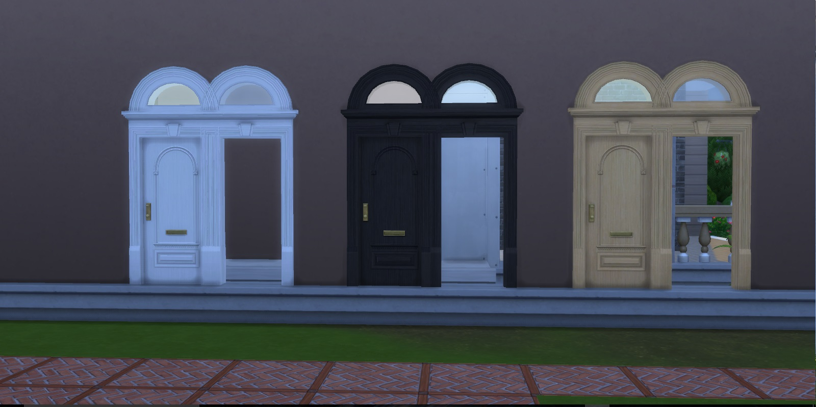 Both The Door And Arch Versions Comes In Three Colours