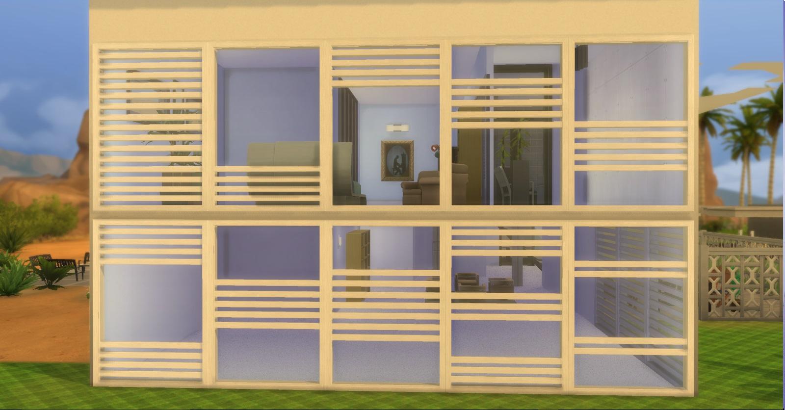 Mod the sims ap modern windows for Window design 4 4