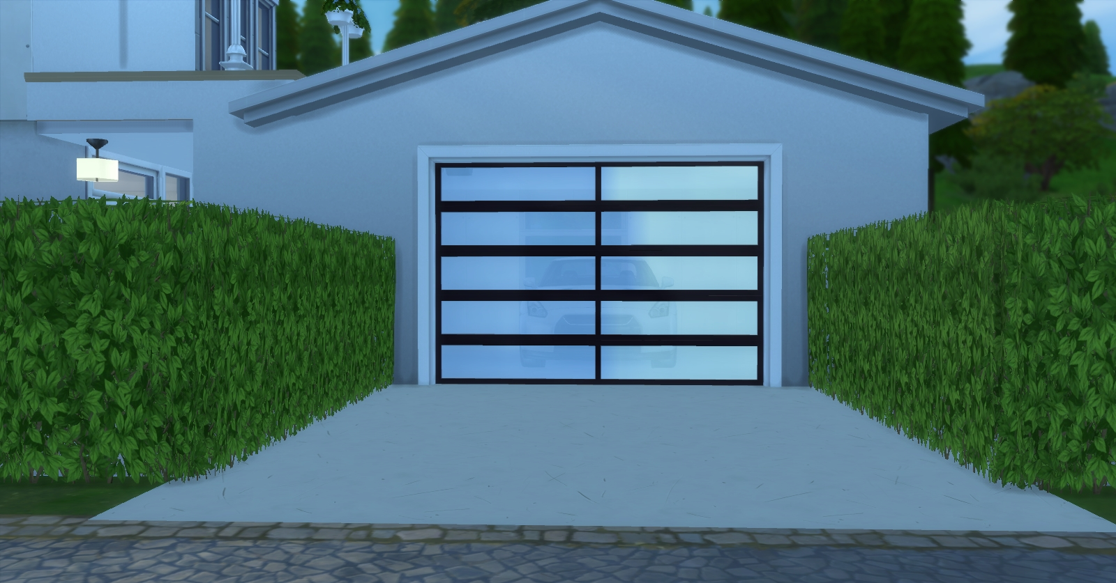 Building A Garage In Sims