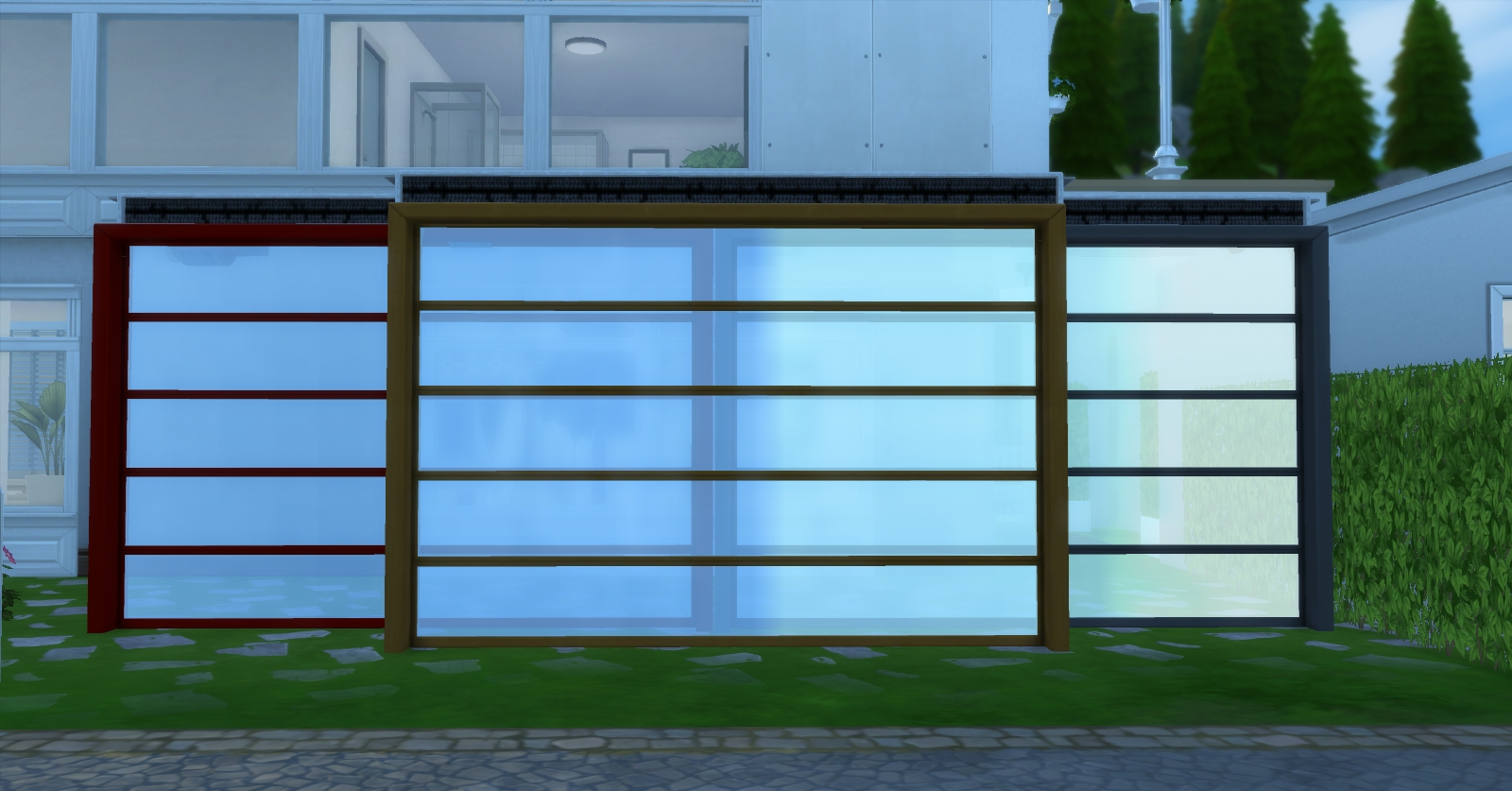 how to create window wells sims 4