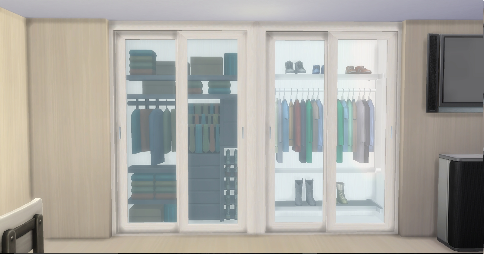 Mod The Sims Display Wardrobe