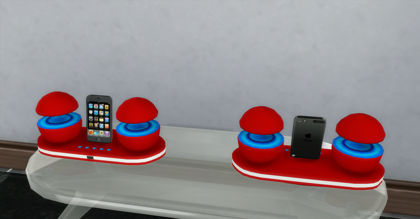 Мод Футуристическая док-станция для iPod