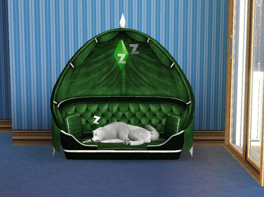Mod The Sims Fantastic Pet Pillow Bed
