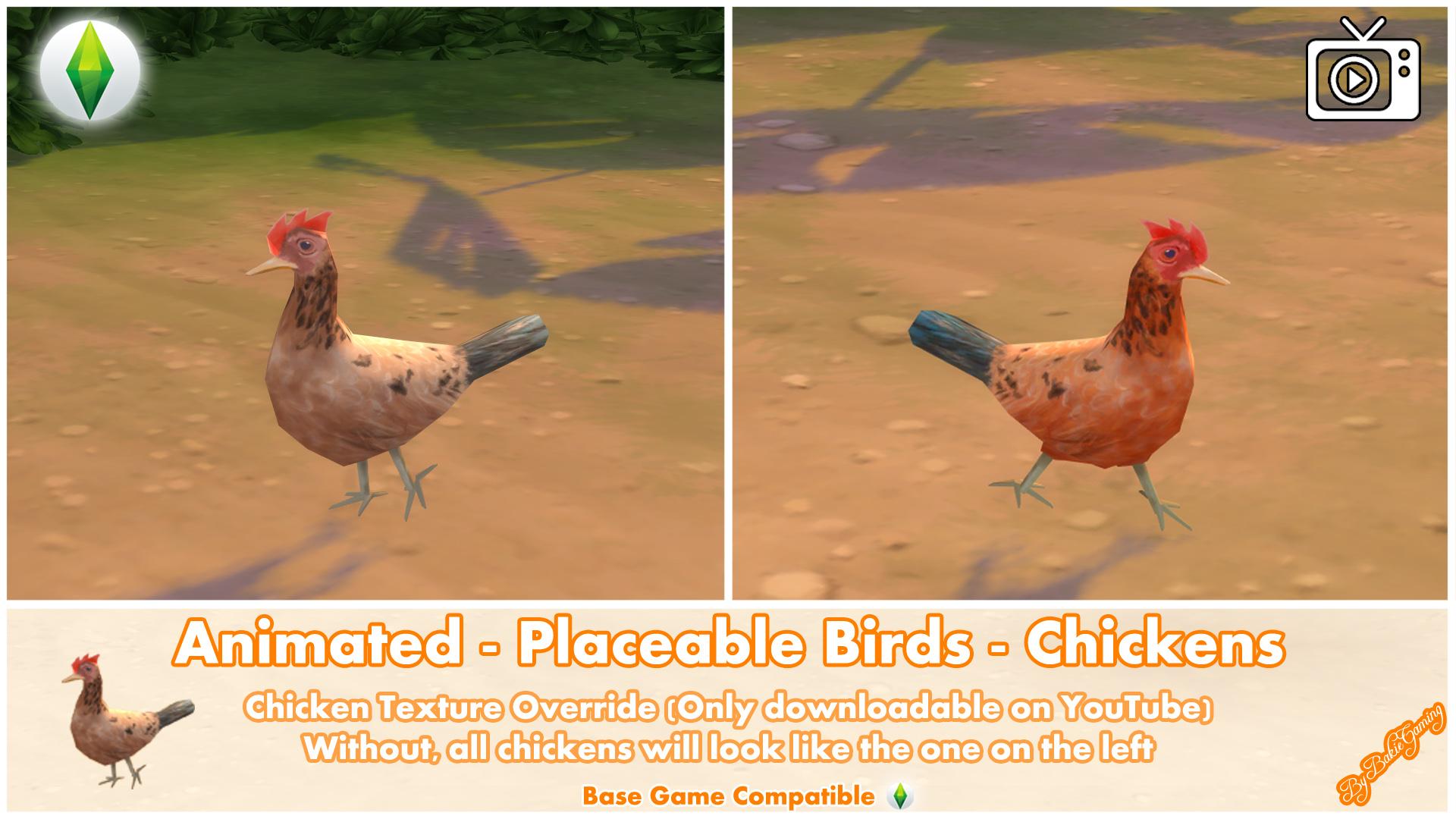 Мод Анимированные Цыплята