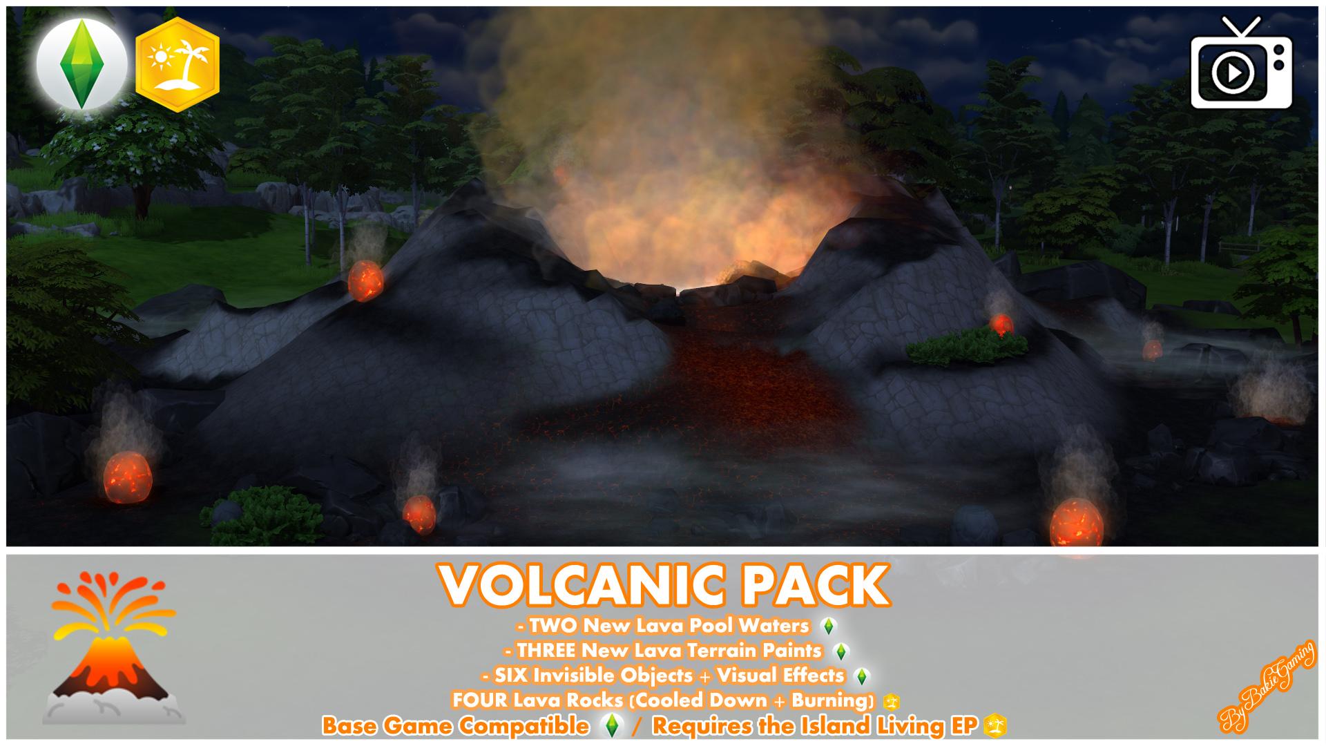 Вулканический Мод