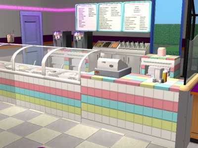 Mod The Sims - Dunkin' Donuts/Baskin Robbins (Requested by ...