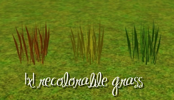 mod the sims grass and weeds. Black Bedroom Furniture Sets. Home Design Ideas