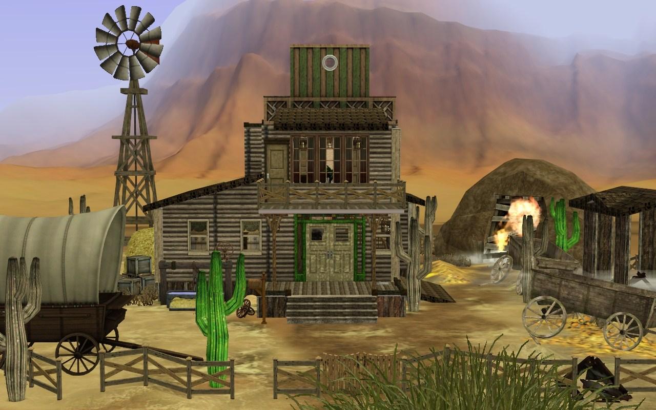 Mod The Sims Western House