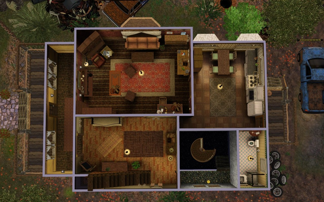Room Floor Plan Creator Mod The Sims Bobby S House Supernatural