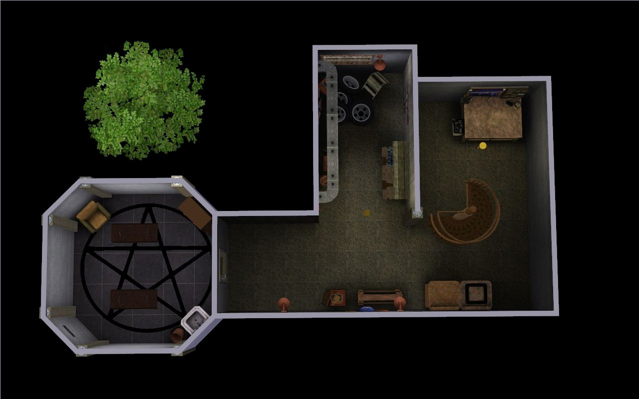 mod the sims bobby 39 s house supernatural