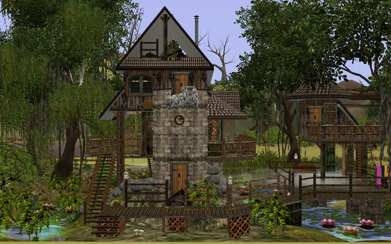 Mod The Sims Smelly House In The Swamp