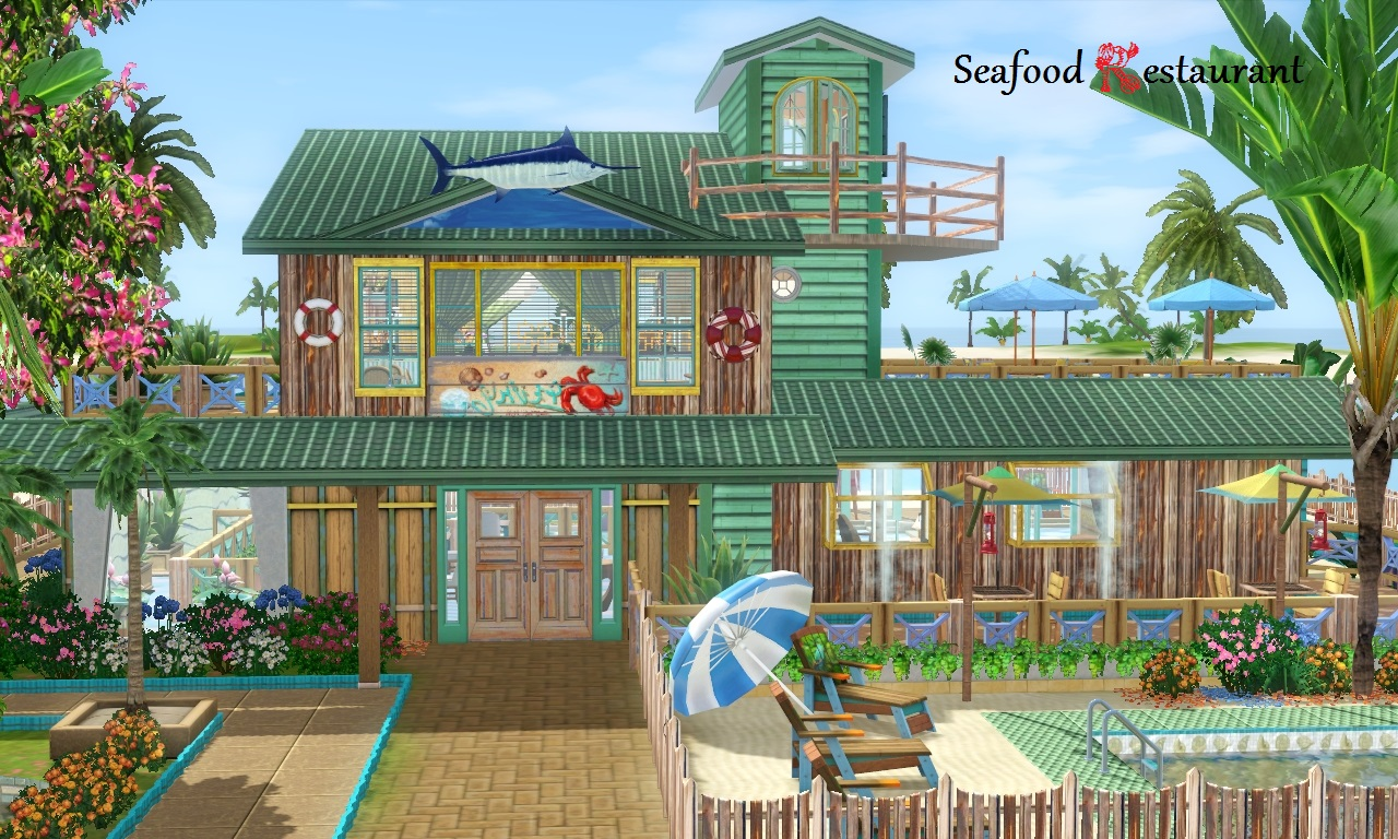 Mod The Sims - Seafood restaurant