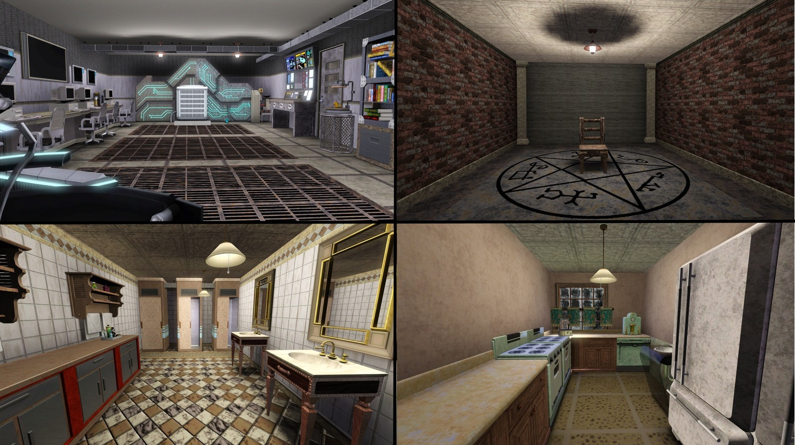 Mod The Sims - The Men of Letters Bunker- Supernatural