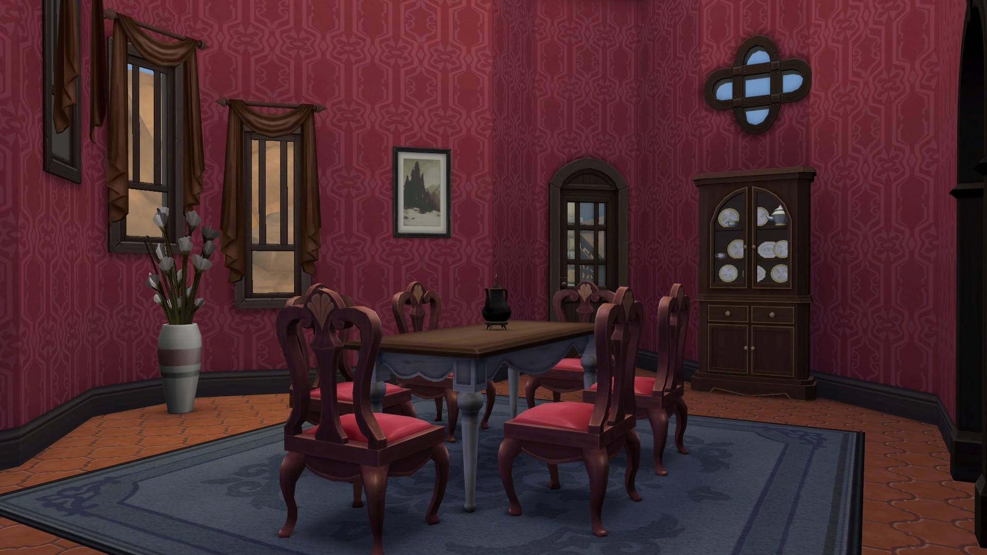 mod the sims vampire castle summer residence