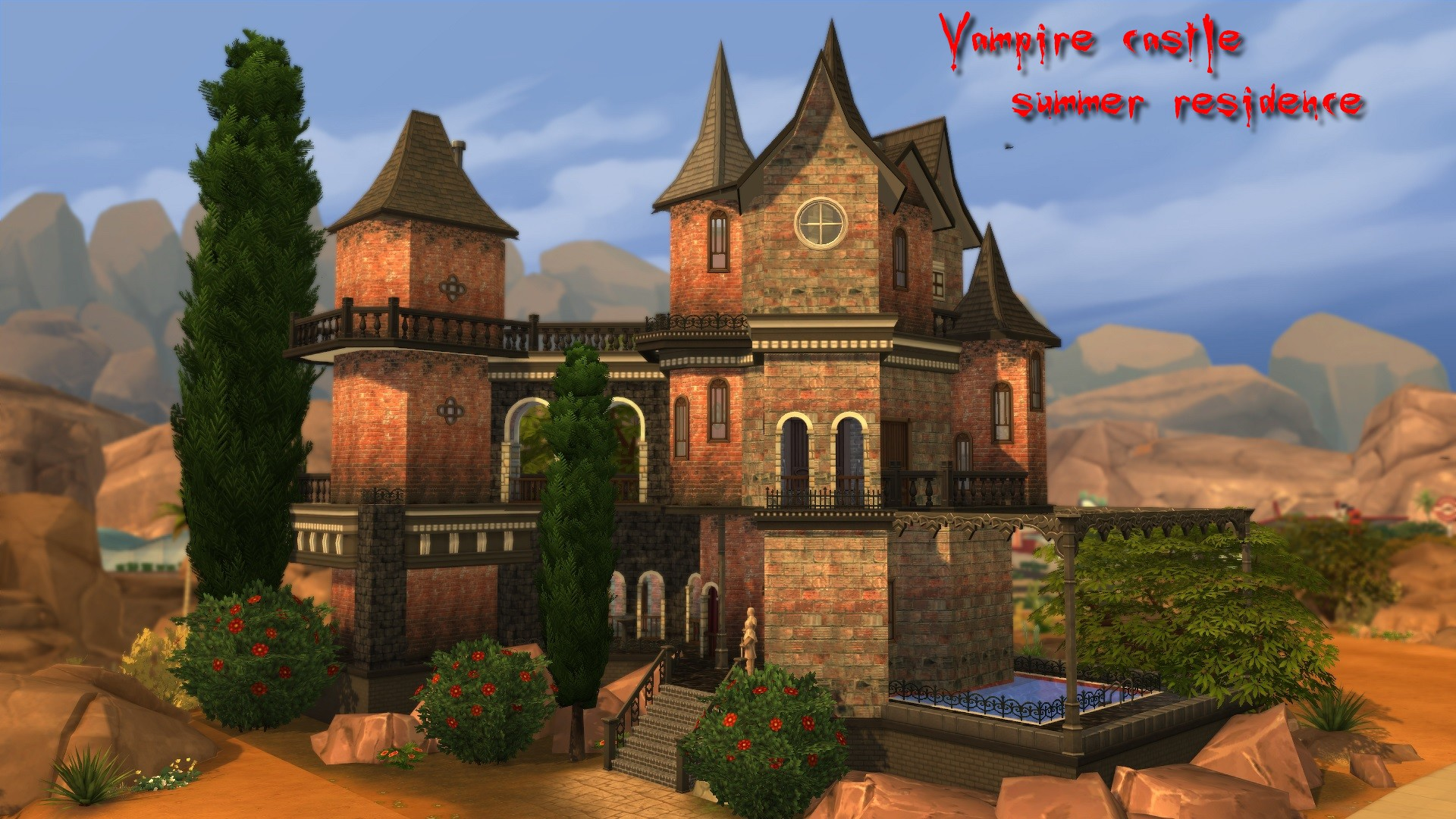 Hogwarts Dining Room Mod The Sims Vampire Castle Summer Residence
