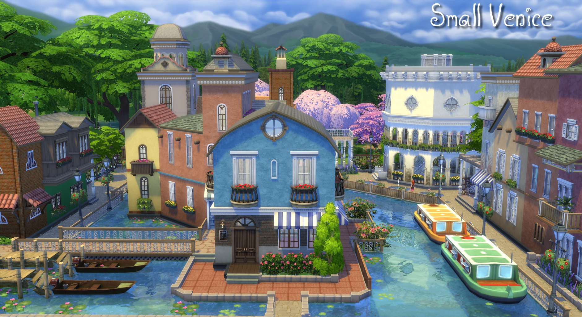 mod the sims small venice