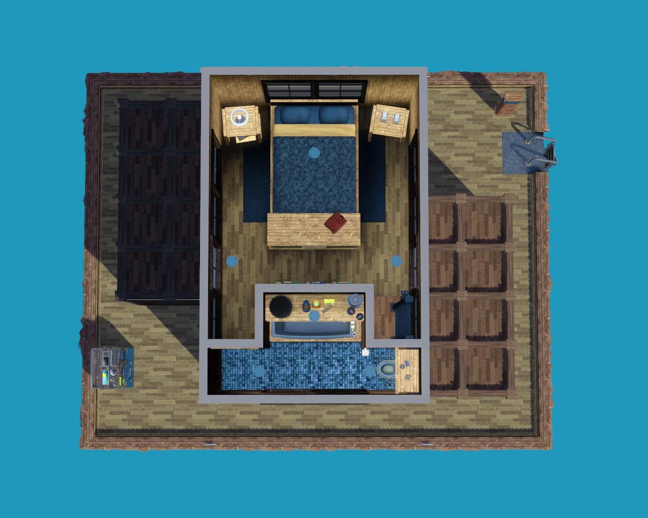 Lapis lazuli house - Advertisement