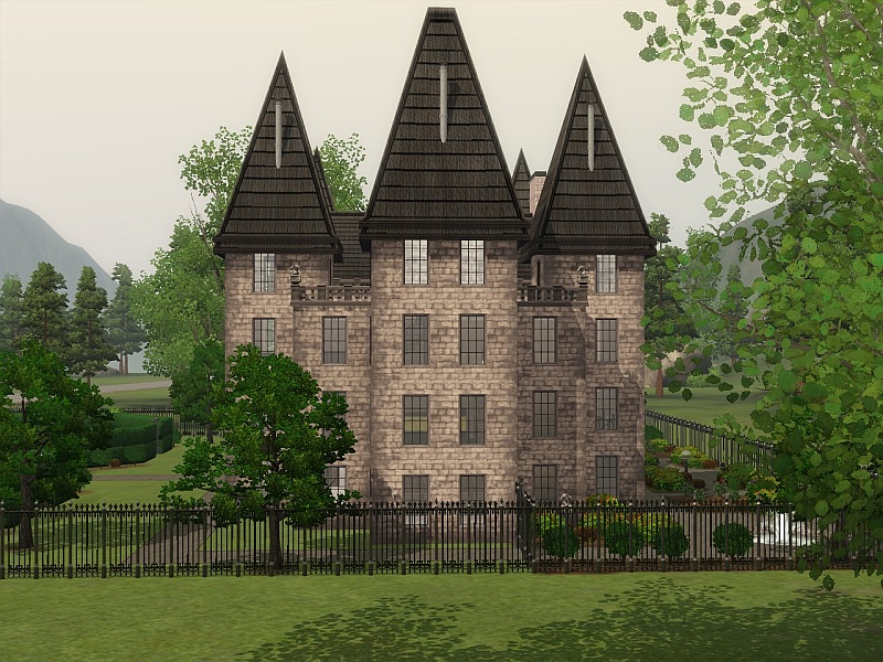 Mod The Sims Malfoy Manor