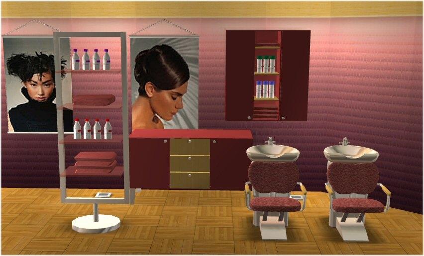 Mod The Sims Beauty Salon Quot La Coupe Quot Recol New Meshes