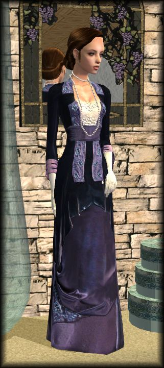 Mod The Sims Titanic Flying Gown