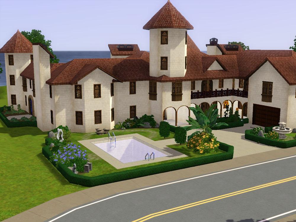 413646 on Sims 3 House Floor Plans