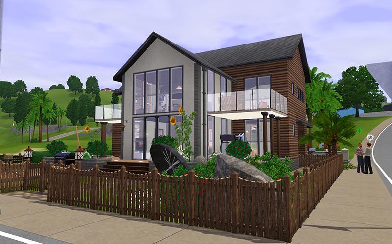 Mod The Sims Ocean Vista Lodge Frio Residence Renovation Base Game No Cc