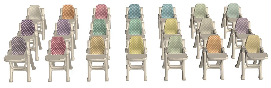 Mod The Sims Toddler Month Ea High Chairs Polkadots In
