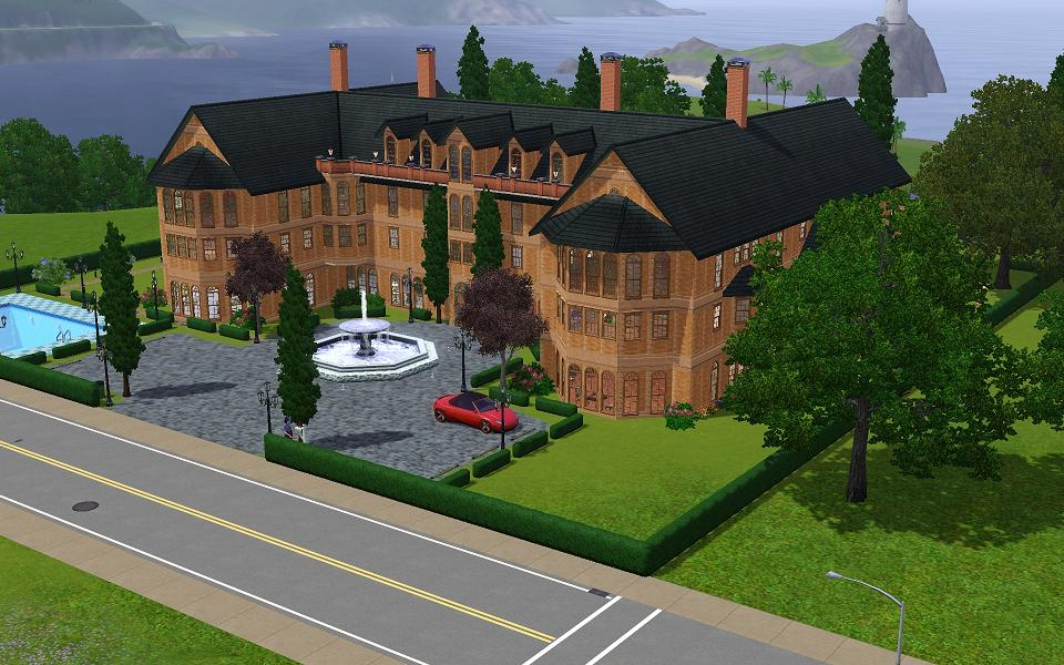 Mod The Sims - A gothic victorian inspired mansion
