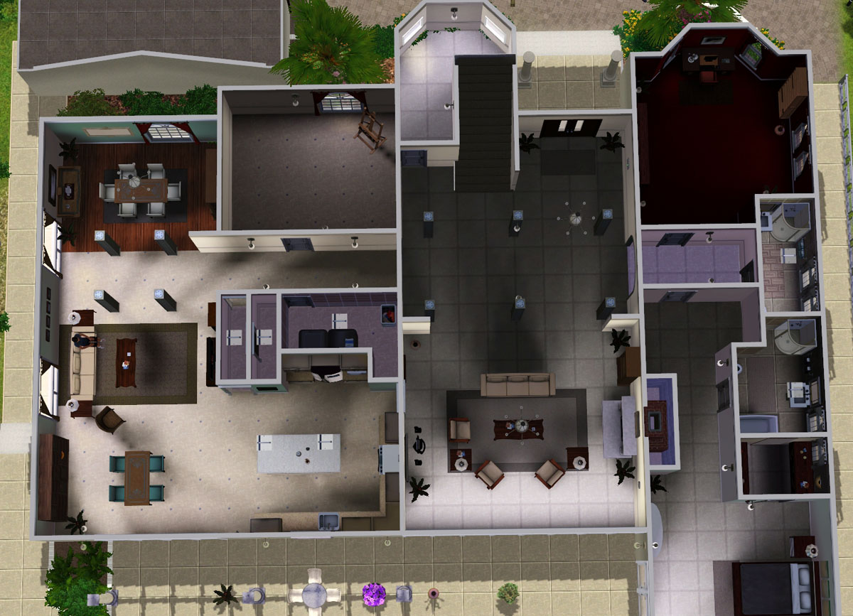 Mod The Sims Cohen House From OC