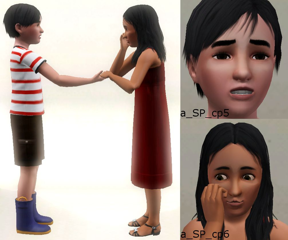 Mod Sims Play Pose Set