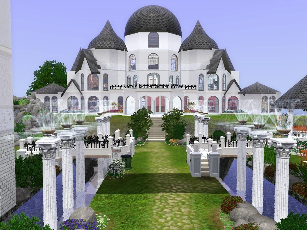 Mod The Sims Moon Kingdom Palace Silver Millennium