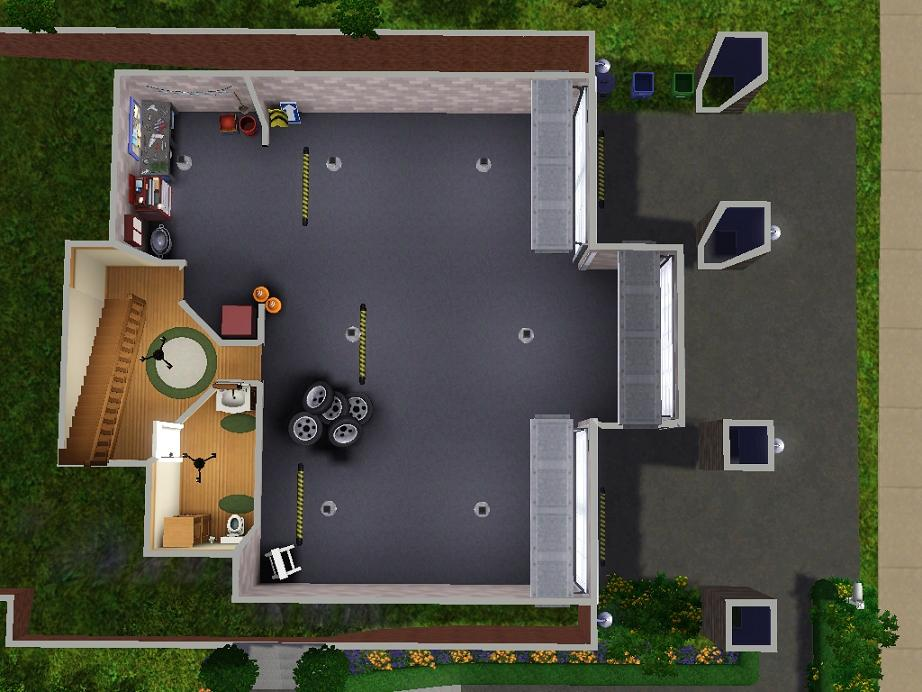 mod the sims 3 bedroom craftsman cliffside home