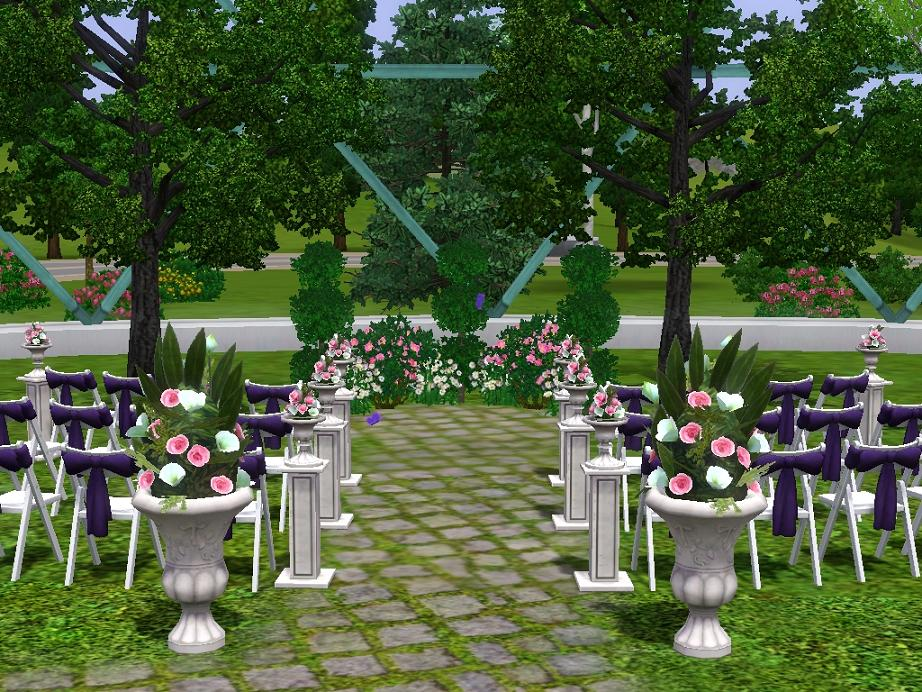 Mod The Sims The Butterfly House Wedding Venue